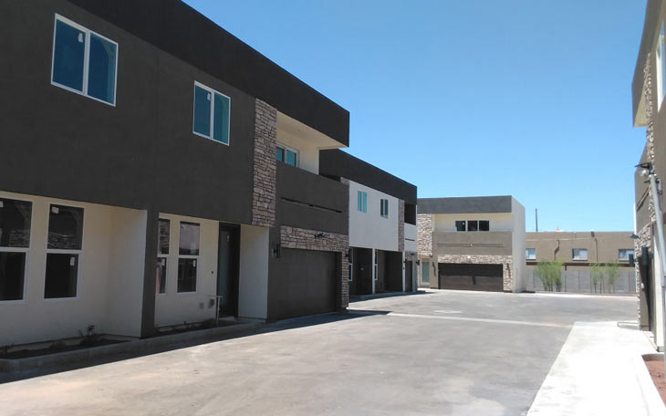 South on 37th Street, 14 Units New Construction Built For Rent in Phoenix, Arizona